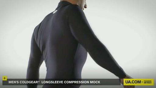 MEN'S COLDGEAR® LONGSLEEVE COMPRESSION MOCK  - image 6 from the video