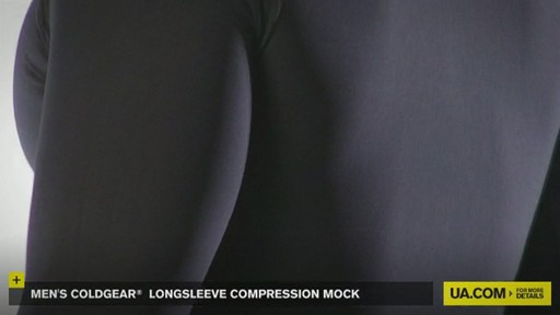 MEN'S COLDGEAR® LONGSLEEVE COMPRESSION MOCK  - image 9 from the video