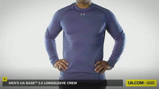 MEN'S UA BASE™ 2.0 LONGSLEEVE CREW - image 2 from the video
