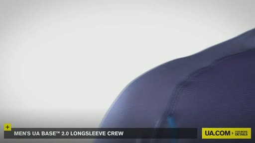 MEN'S UA BASE™ 2.0 LONGSLEEVE CREW - image 6 from the video