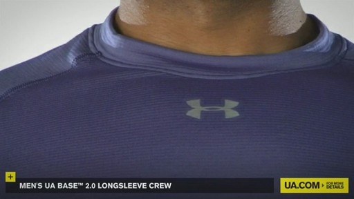 MEN'S UA BASE™ 2.0 LONGSLEEVE CREW - image 7 from the video