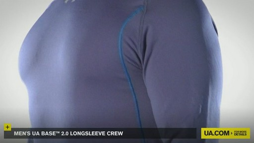 MEN'S UA BASE™ 2.0 LONGSLEEVE CREW - image 8 from the video