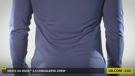 MEN'S UA BASE™ 2.0 LONGSLEEVE CREW - image 9 from the video