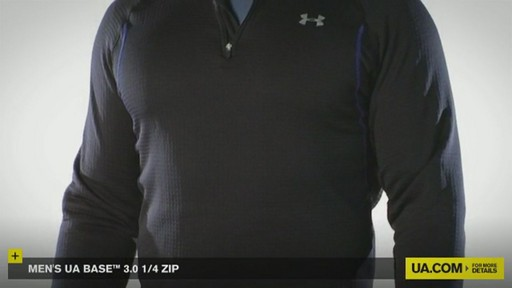 MEN'S UA BASE™ 3.0 1/4 ZIP  - image 2 from the video