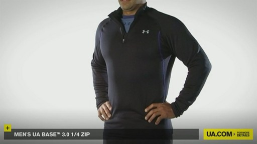 MEN'S UA BASE™ 3.0 1/4 ZIP  - image 5 from the video