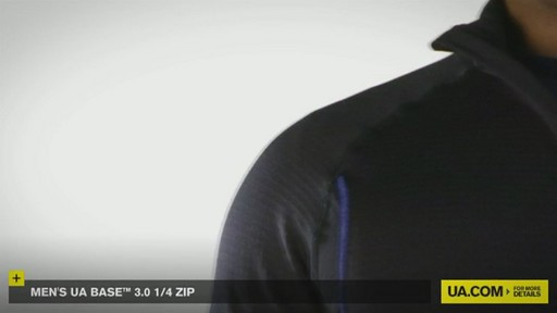 MEN'S UA BASE™ 3.0 1/4 ZIP  - image 7 from the video