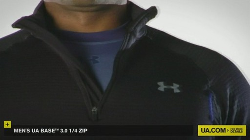 MEN'S UA BASE™ 3.0 1/4 ZIP  - image 8 from the video