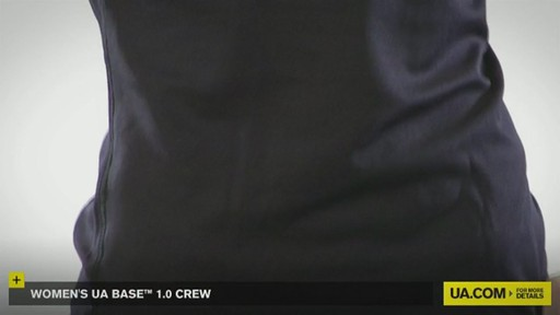 WOMEN'S UA BASE™ 1.0 CREW - image 3 from the video