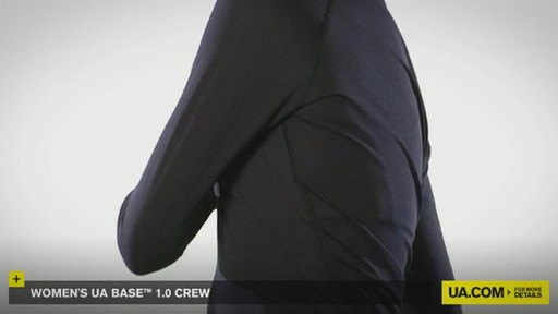 WOMEN'S UA BASE™ 1.0 CREW - image 8 from the video