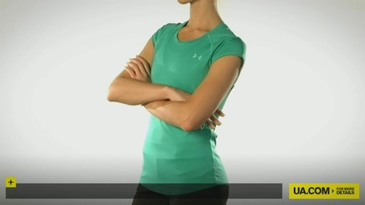 WOMEN'S UA CATALYST SHORTSLEEVE T-SHIRT - image 10 from the video