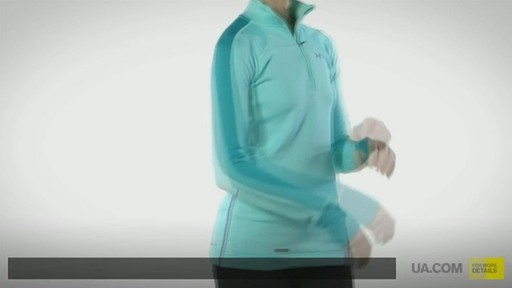 WOMEN'S UA BASE™ 3.0 1/4 ZIP  - image 1 from the video