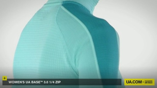 WOMEN'S UA BASE™ 3.0 1/4 ZIP  - image 8 from the video