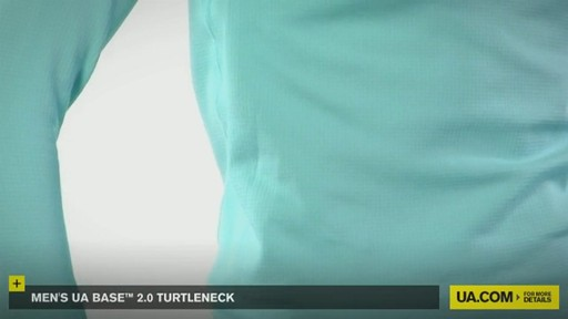 WOMEN'S UA BASE™ 2.0 TURTLENECK  - image 3 from the video