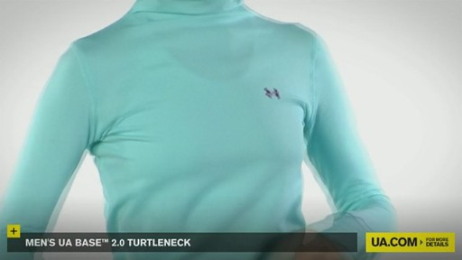 WOMEN'S UA BASE™ 2.0 TURTLENECK  - image 6 from the video