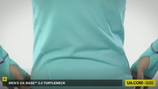 WOMEN'S UA BASE™ 2.0 TURTLENECK  - image 9 from the video