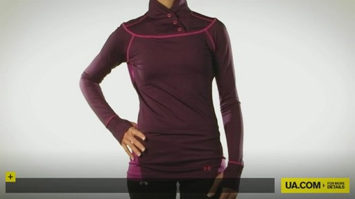 WOMEN'S EVO COLDGEAR® CONVERTIBLE LONGSLEEVE - image 1 from the video