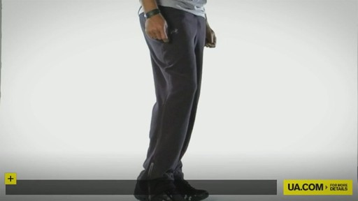 MEN'S UA HUNDO® 1.0 FLEECE PANTS - image 1 from the video