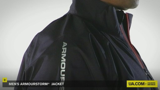 MEN'S ARMOURSTORM® JACKET - image 2 from the video