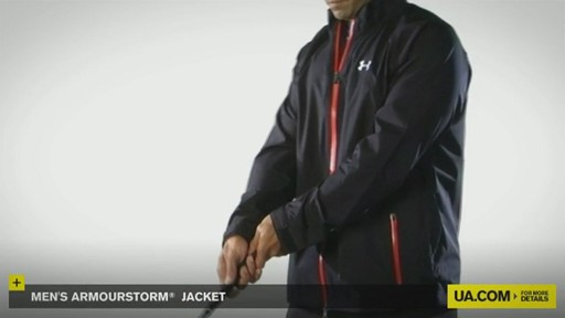 MEN'S ARMOURSTORM® JACKET - image 4 from the video
