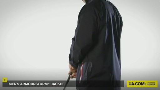 MEN'S ARMOURSTORM® JACKET - image 5 from the video