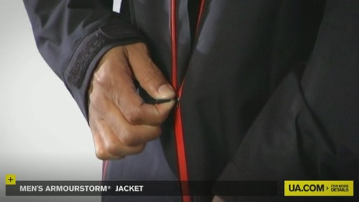 MEN'S ARMOURSTORM® JACKET - image 6 from the video