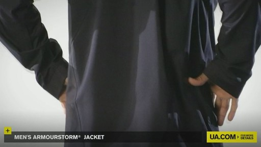 MEN'S ARMOURSTORM® JACKET - image 8 from the video