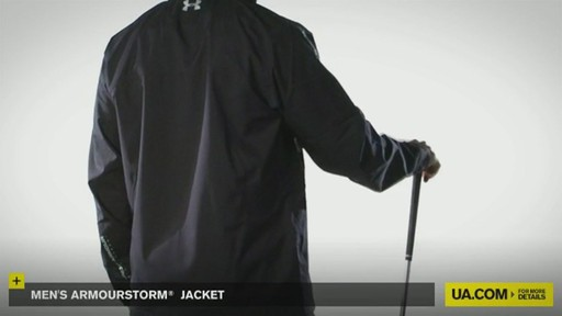 MEN'S ARMOURSTORM® JACKET - image 9 from the video