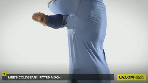 MEN'S COLDGEAR® FITTED MOCK - image 7 from the video
