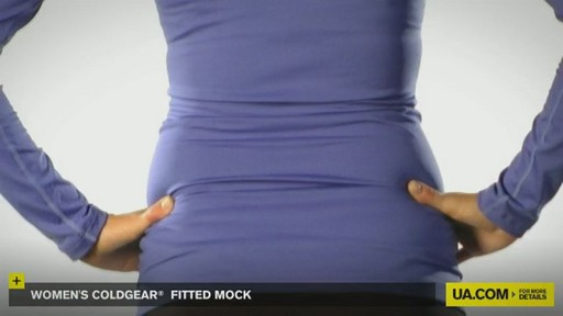 WOMEN'S COLDGEAR® FITTED MOCK - image 7 from the video