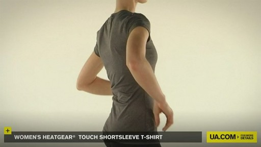 WOMEN'S HEATGEAR® TOUCH SHORTSLEEVE T-SHIRT - image 6 from the video