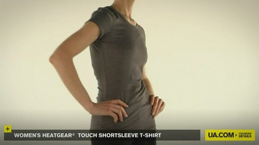 WOMEN'S HEATGEAR® TOUCH SHORTSLEEVE T-SHIRT - image 7 from the video