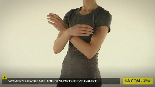 WOMEN'S HEATGEAR® TOUCH SHORTSLEEVE T-SHIRT - image 8 from the video