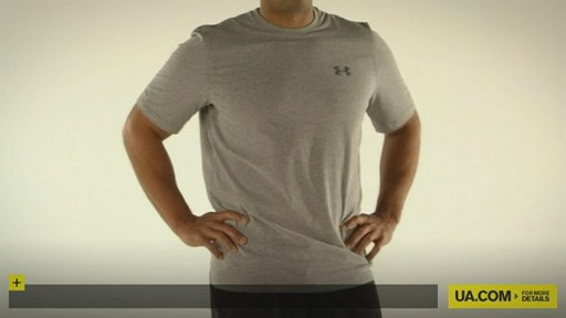 MEN'S UA CHARGED COTTON® SHORTSLEEVE T-SHIRT - image 10 from the video