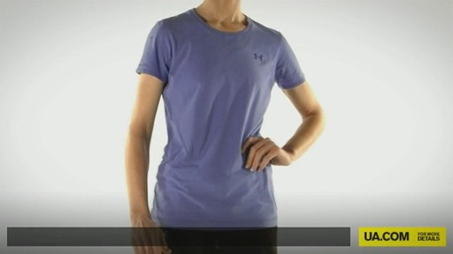 WOMEN'S UA CHARGED COTTON® SHORTSLEEVE T-SHIRT - image 1 from the video