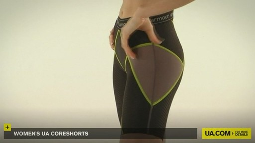 WOMEN'S UA CORESHORTS - image 2 from the video