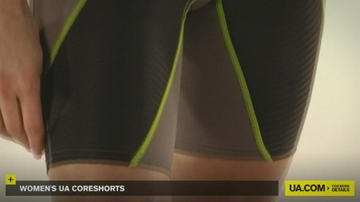 WOMEN'S UA CORESHORTS - image 3 from the video