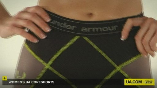 WOMEN'S UA CORESHORTS - image 4 from the video