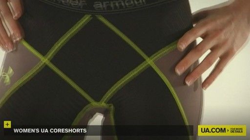 WOMEN'S UA CORESHORTS - image 5 from the video