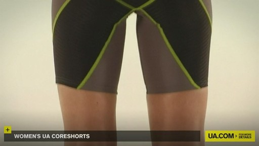 WOMEN'S UA CORESHORTS - image 6 from the video