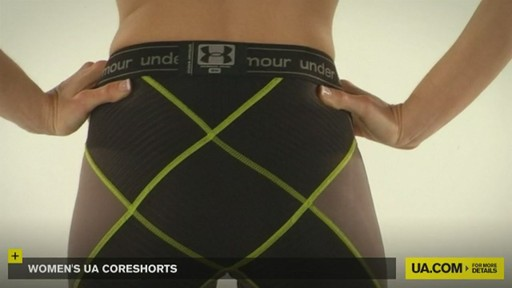 WOMEN'S UA CORESHORTS - image 7 from the video