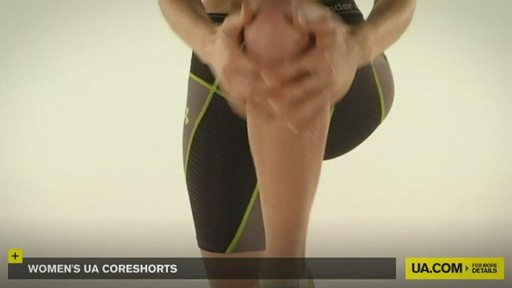 WOMEN'S UA CORESHORTS - image 8 from the video