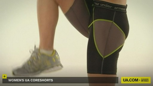 WOMEN'S UA CORESHORTS - image 9 from the video