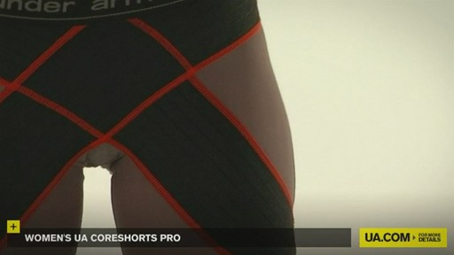 WOMEN'S UA CORESHORTS PRO - image 2 from the video