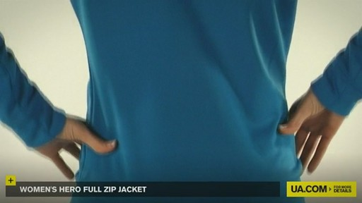 WOMEN'S UA HERO FULL ZIP JACKET - image 3 from the video