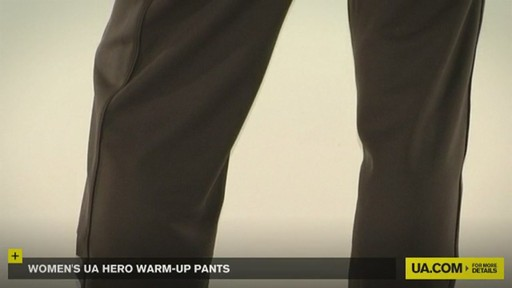 WOMEN'S UA HERO WARM-UP PANTS - image 3 from the video