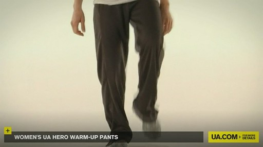WOMEN'S UA HERO WARM-UP PANTS - image 5 from the video