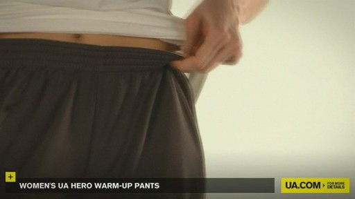 WOMEN'S UA HERO WARM-UP PANTS - image 7 from the video
