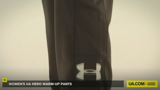 WOMEN'S UA HERO WARM-UP PANTS - image 9 from the video