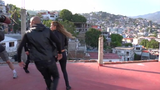 Jennifer Lopez Under Armour Behind The Scenes - image 4 from the video