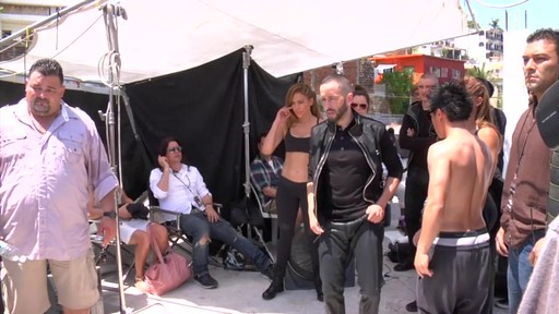 Jennifer Lopez Under Armour Behind The Scenes - image 7 from the video